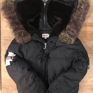 Juicy Couture Girls bomber/puffer jacket. Size 12